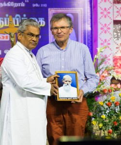 Servant of God Louis Leveil participated in the 46th death anniversary of Fr. Leveil at Sarugani on 21 March 2019. They also visited the parishes of Nagarikathan, Andavoorani and Ramnad where Fr. Leveil fulfilled his mission and admired at his tremendous service to the poor people of the Diocese of Sivagangai.