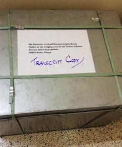 Box with Transcript Copy