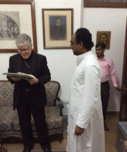 Postulator reporting to Nuncio